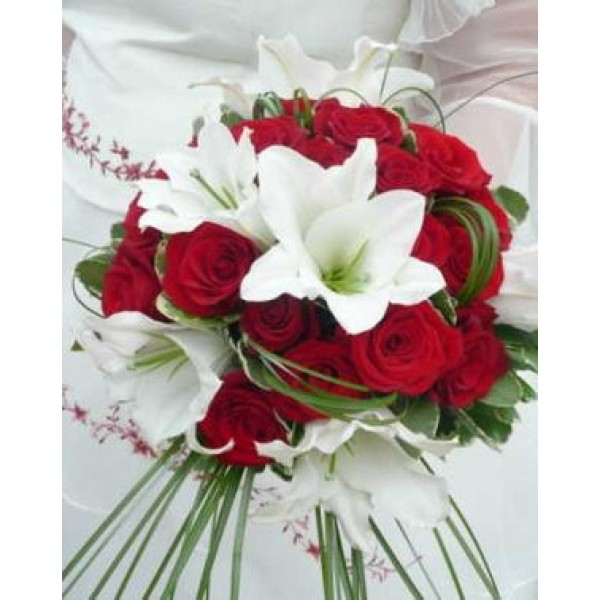 bouquet de fleur mariee rouge et blanc meilleur blog de photos de mariage pour vous. Black Bedroom Furniture Sets. Home Design Ideas