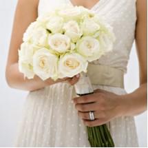 Bouquet de la Mariée en Blanc